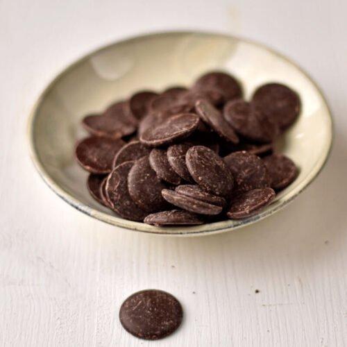 Chocolate 55 Dark Buttons Organic
