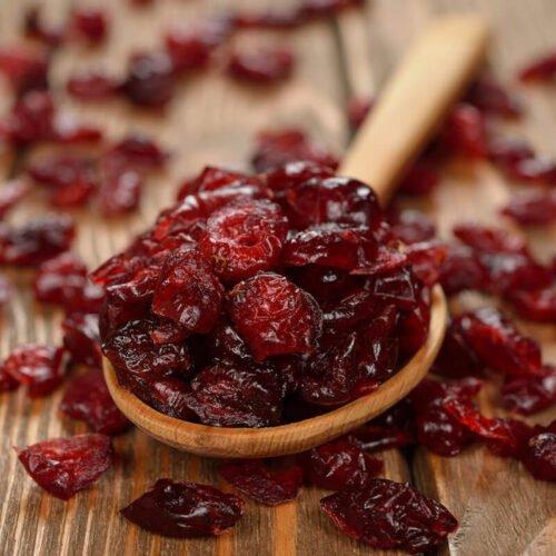 Cranberries infused w/ apple juice Organic