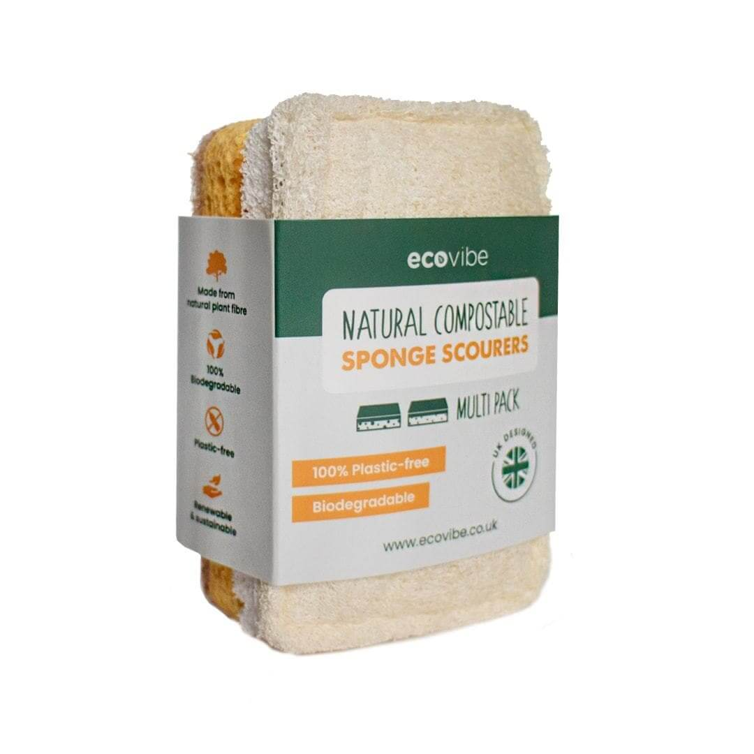 Fair-Well compostable scourer sponges