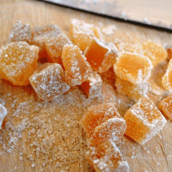 Ginger Crystallised Organic