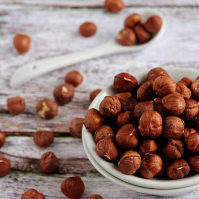 Hazelnuts Raw Whole Organic