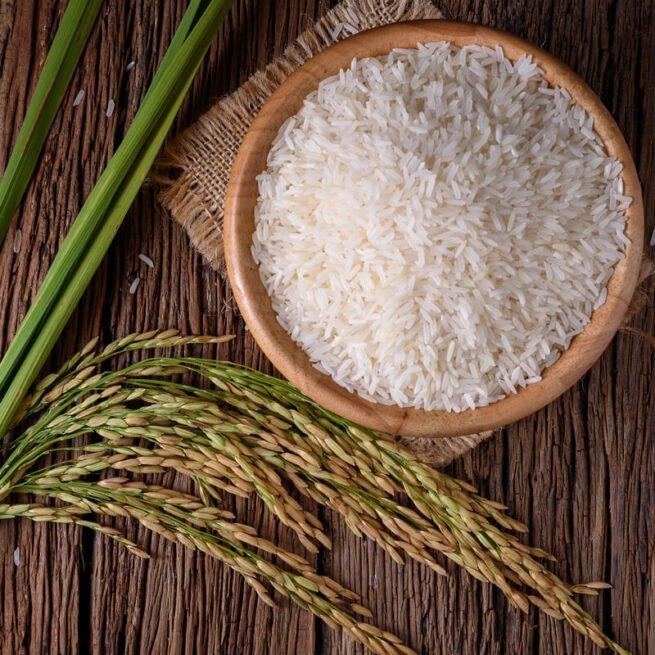 Jasmine White Organic Rice