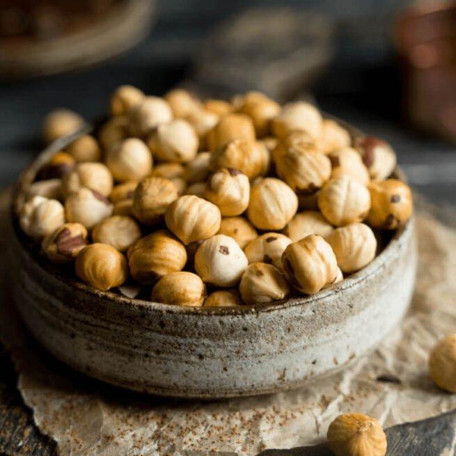 Roasted Hazelnuts Organics